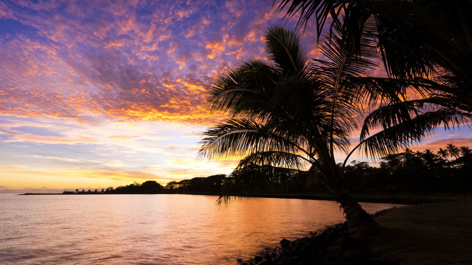 Sunset in Samoa